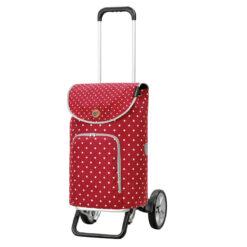 Produktbild från Andersen - Artikelnummer 115-155-70 - Shoppingvagn Alu Star Ole Röd