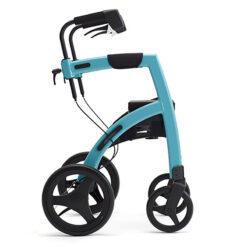 Produktbild 1 från Rollz - Artikelnummer 84006 - Motion2 Kombi Rollator Small Blå