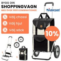 Produktbild - Bygg din shoppingvagn hos käpprätt.se