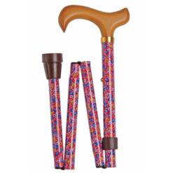 Produktbild 1 från Classic Canes - Artikelnummer 4816C - Käpp Hopfällbar Pink Floral