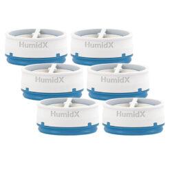 Produktbild 1 från Resmed - Artikelnummer 38810 - HumidX Befuktare 6 pack
