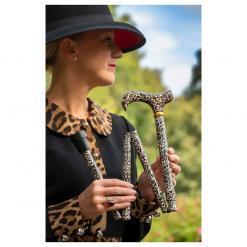 Produktbild 1 från Classic Canes - Artikelnummer 4846A - Käpp Hopfällbar Leopard